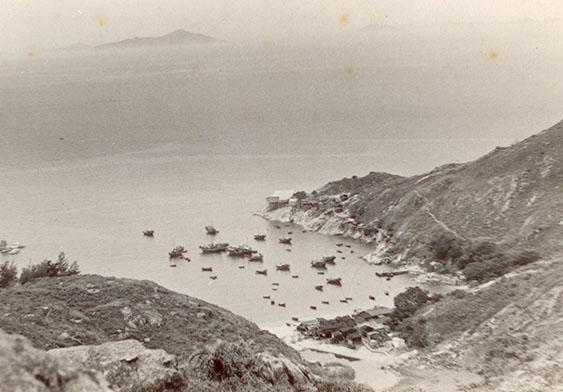 蒲台岛的港口
