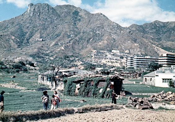1960年代初的黃大仙