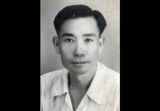年轻时的吴华友