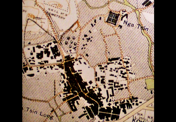 东头村旧地图