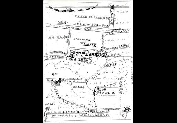 手繪的模範村地圖