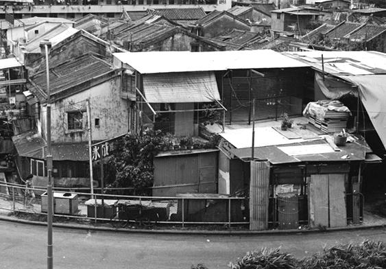 1970年代末的北边街