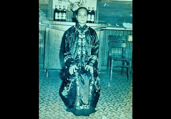 吳展鴻的祖母