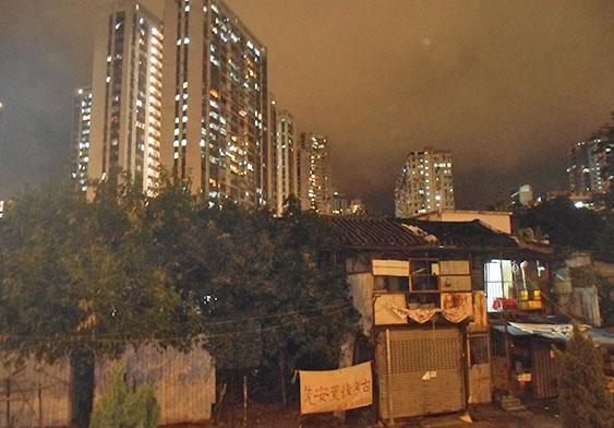 南邊街夜景