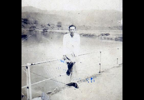 內戰時期在港工作的吳華友