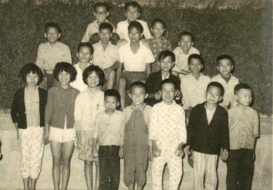 童年在围村的玩伴