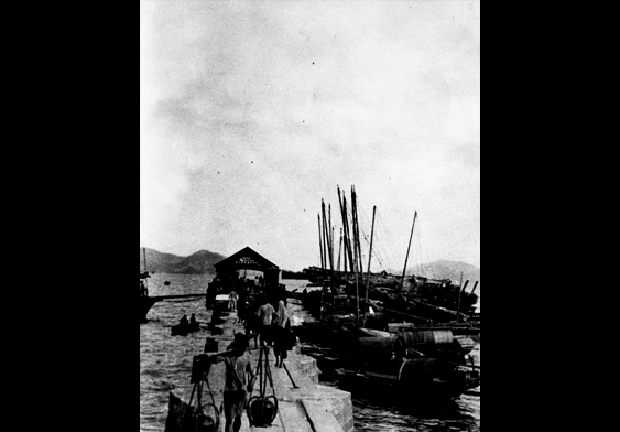 九龙城码头