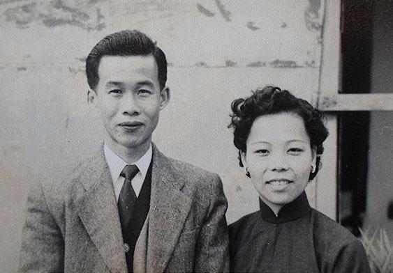 年輕時的吳兆章