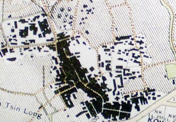 旧地图上的沙埔村