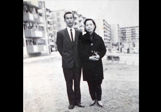 年轻时的父母