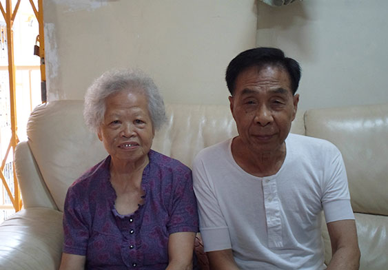 梁婆婆与丈夫
