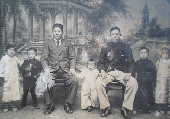 戰前的李氏家族